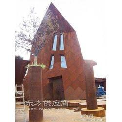 河南销售耐候钢板锈艺钢板加工景观用锈钢板图片