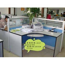 办公家具四人职员工作位屏风隔断办公桌定做图片