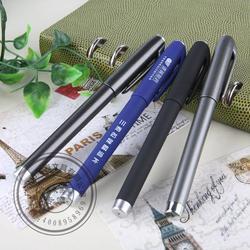 茂名中性笔_笔海文具_0.5塑料中性笔 书法练字笔图片