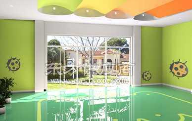 幼儿园大厅地面设计图片展示