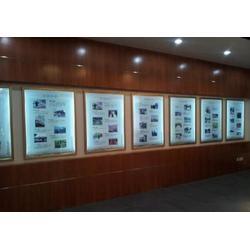 南邦拉布灯箱制作厂家-水晶灯箱厂家-小蓝开发区超薄灯箱图片