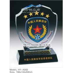 陆军退伍纪念品专业生产设计订做厂家,陆军退伍水晶纪念品供应厂家图片