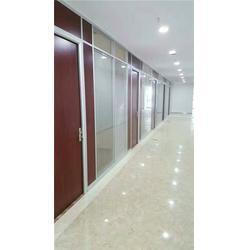 办公室钢化玻璃隔断安装|办公室钢化玻璃隔断|武汉名艺画苑图片