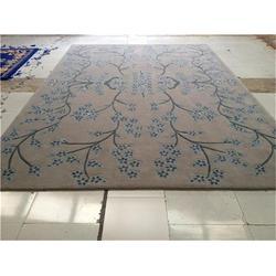 西藏地毯,手工新毛地毯,手工地毯首选唯尔雅图片