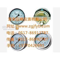 压力表/充油耐震压力表/不锈钢充油耐震压力表图片