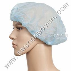 供应一次性优质PP无纺布单筋 双筋条形帽图片