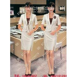 珠宝营业员服装订制-钟表店员制服定做图片