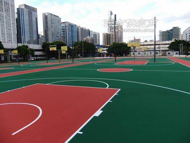 专业硅pu篮球场施工硅pu篮球场建设篮球场施