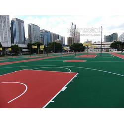 做一个标准的丙烯酸篮球场需要多少钱篮球场丙烯酸地坪油漆单方造价图片