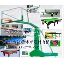 篮球架乒乓球台 台球桌路径器材低廉图片
