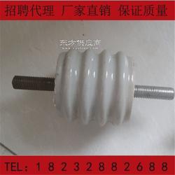 JR小号绝缘子 白色瓷柱 M10铜柱绝缘子