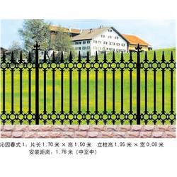 铸铁护栏,铸铁护栏,荣亨金属公司图片