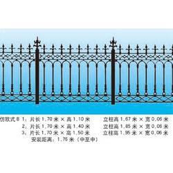 铁岭铸铁护栏_荣亨金属_铸铁护栏供应图片
