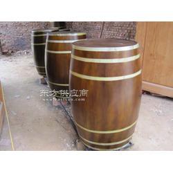 专业定做木制包装桶实木桶大量酒桶销售图片