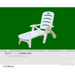 塑料休闲躺椅厂家图片