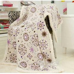 超柔保暖复合毯 复合毯厂家图片