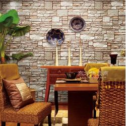 餐厅仿石头墙纸订制 咖啡厅石头纹壁纸定制 客厅无缝3d石头壁画图片