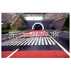 道路标线涂料交通涂料马路划线材料彩色防滑路面施工图片