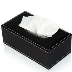 【阳江皮质纸巾盒】,家用皮质纸巾盒设计,永世嘉箱包厂图片