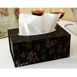 深圳皮质纸巾盒|皮质纸巾盒生产加工|永世嘉箱包厂图片