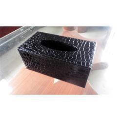 潮州皮革纸巾桶、永世嘉箱包厂、长方形皮革纸巾桶图片