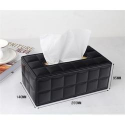 广州纸巾盒厂家、皮革纸巾盒厂家、永世嘉箱包厂图片