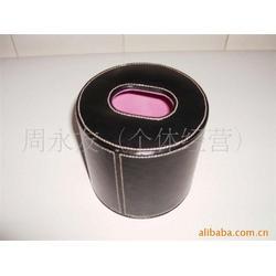 广州皮质纸巾筒、永世嘉箱包厂、皮质纸巾筒制作图片