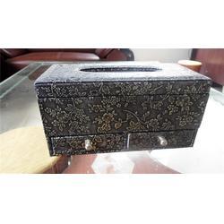 珠海方形纸巾盒|欧式皮革方形纸巾盒|永世嘉箱包厂图片