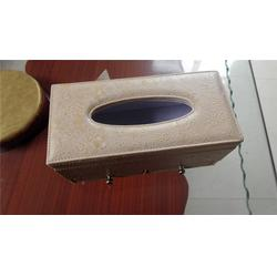 东莞 皮质纸巾盒-花都皮质纸巾盒厂家-永世嘉箱包厂图片
