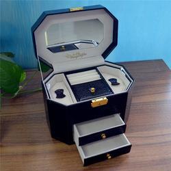 肇庆高档珠宝盒,高档珠宝盒生产厂家,永世嘉箱包厂图片