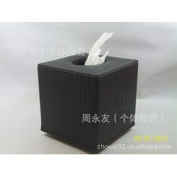 河源皮质纸巾盒,永世嘉箱包厂,欧式皮质纸巾盒图片