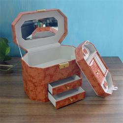 阳江皮质首饰盒|永世嘉箱包厂|高档皮质首饰盒图片