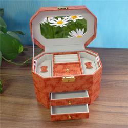 皮革珠宝首饰盒-永世嘉箱包厂-肇庆珠宝首饰盒图片