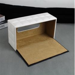 广州皮质纸巾盒-永世嘉箱包厂-皮质纸巾盒厂家图片