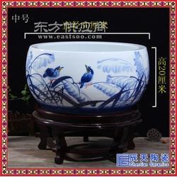陶瓷插香器佛教用品 佛堂摆件香插骨瓷聚宝盆大号香炉图片