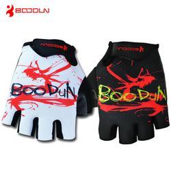 夏季硅胶掌垫单车手套、单车手套、广州博顿骑行手套图片