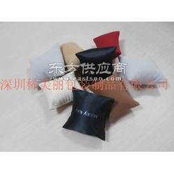 彩色绒布手表枕头图片