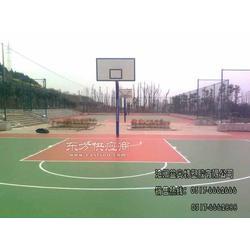 塑胶跑道铺设 塑胶蓝 网球场工程 塑胶颗粒地面工程图片