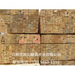 白松方木厂家|白松方木|顺通木材加工厂图片