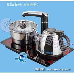 大庆自动抽水电水壶 自动抽水电水壶厂家-酷高茶具图片