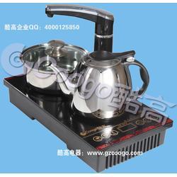 带抽水电水壶厂家,潮州带抽水电水壶,酷高茶具图片