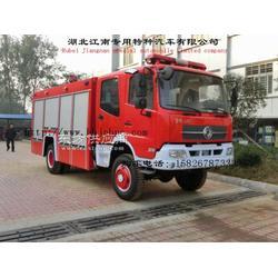 东风天锦6吨水罐消防车厂家图片