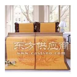 凉席 折叠式竹丝席 纯天然凉爽双人席图片