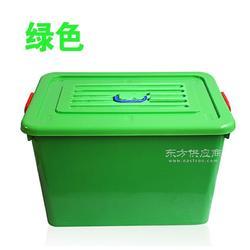 家居收纳塑料储物箱 超大容量加厚塑料储物箱 密封带盖塑料储物箱图片