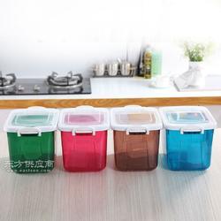 食品级塑料米箱 家用厨房带盖塑料米箱 多功能实用塑料米箱图片
