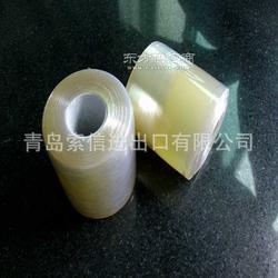 厂家特殊管芯32mm可做6公斤一卷绿色PVC分条缠绕膜图片