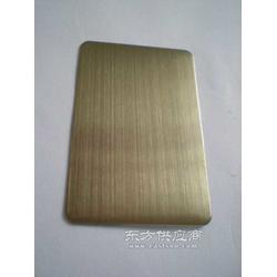 供应彩色不锈钢香港金拉丝板可做无指纹图片