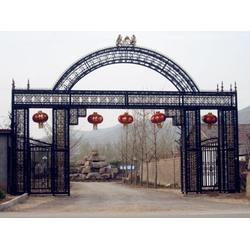鸡西铁艺凯旋门,临朐远晟金属,优质铁艺凯旋门图片