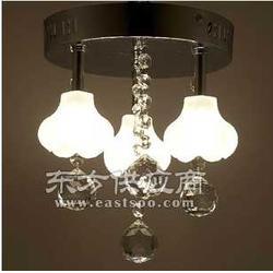 尊艺家居提供小额LED现代简约水晶吸顶灯图片