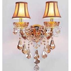 华艳独家销售光源功率只有40w的汉弗莱水晶壁灯图片